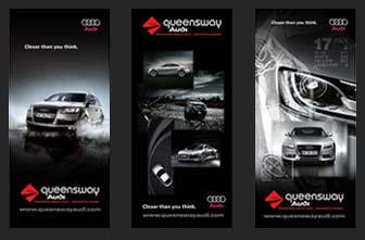 Plasmalife Motion Graphics Queensway Audi Website Design