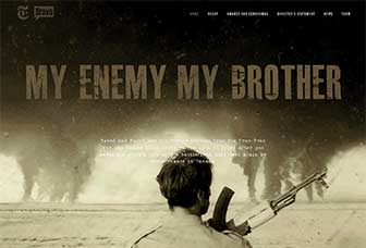 My Enemy My Brother home page
